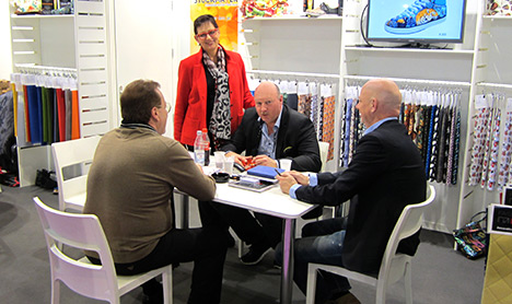 MesseImpressions – Première Vision Leather | 10. – 12. February 2015 | STOCKMAYER - innovative textiles and more