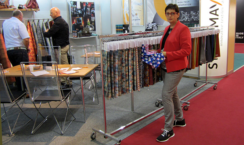 MesseImpressions – Lineapelle | 20. – 22. September 2016 | STOCKMAYER - innovative textiles and more
