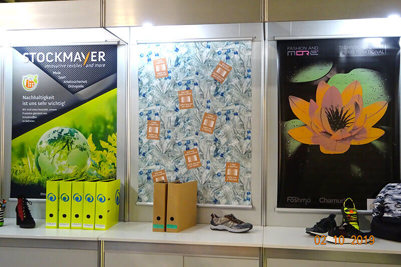 MesseImpressions – Lineapelle |  2. – 4. October 2019 | STOCKMAYER - innovative textiles and more
