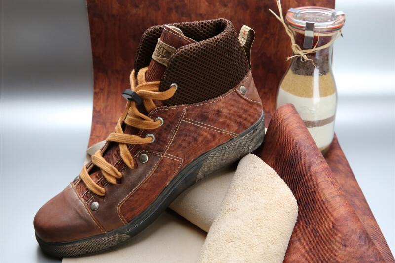 Vegetabil gegerbtes Leder | STOCKMAYER - innovative textiles and more